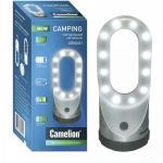 Фонарь Camelion LED (для кемпинга 4хR03, серебро,24 магн. подвеска)