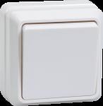 Выключатель ОКТАВА 1-кл белый ОУ 10А ВС20-1-0-ОБ