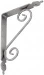 WOZ 140 HS Кронштейн декоративный 140х110 серебряный