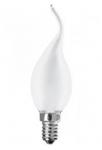Лампа 40Вт Е14 свеча на ветру